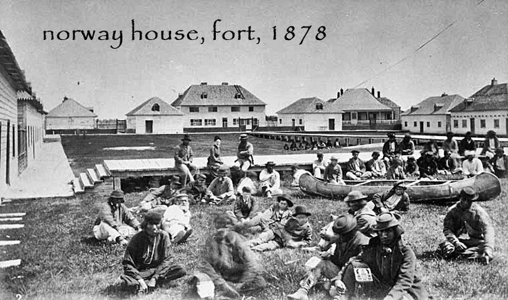 norway house, fort, 1878 - nh