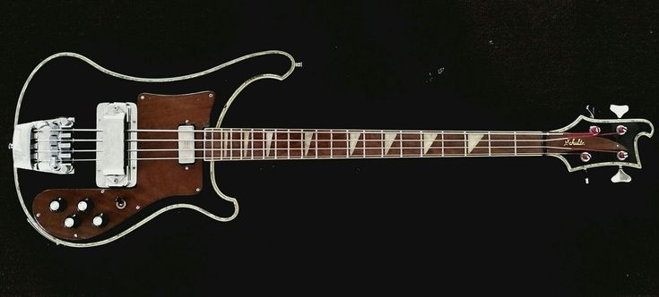 1972 Eric Schulte customized Ric 4001 w/ Abalone binding - Seymour Duncan pickups and preamp