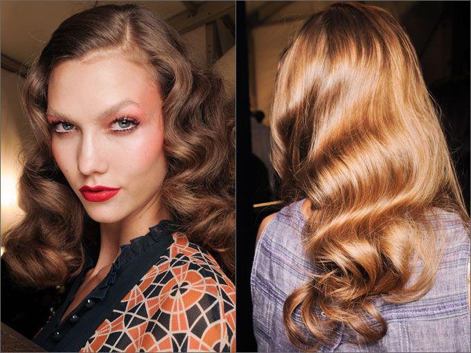 Прически в стиле ретро |Осень-зима 2014/2015 на Fashion-fashion.ru
