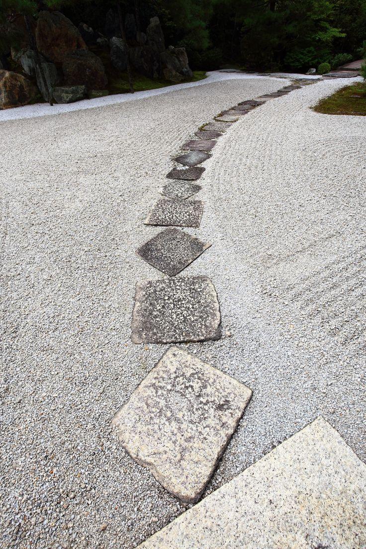 飛び石 写真 高画質 金地院 京都 情緒