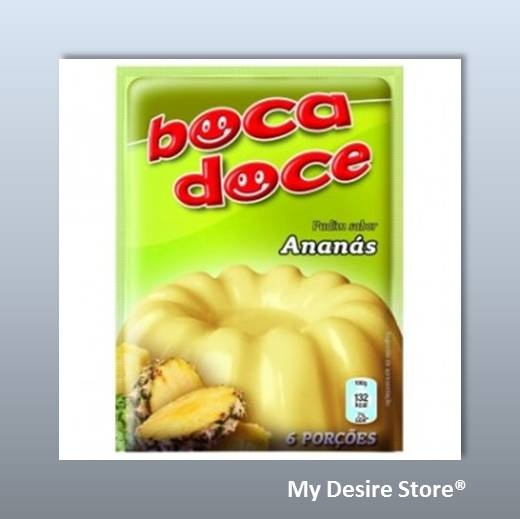 Boca Doce® Pudding flavoured with pineapple - 22gr http://www.mydesirestore.com/product/vanilla-pudding/