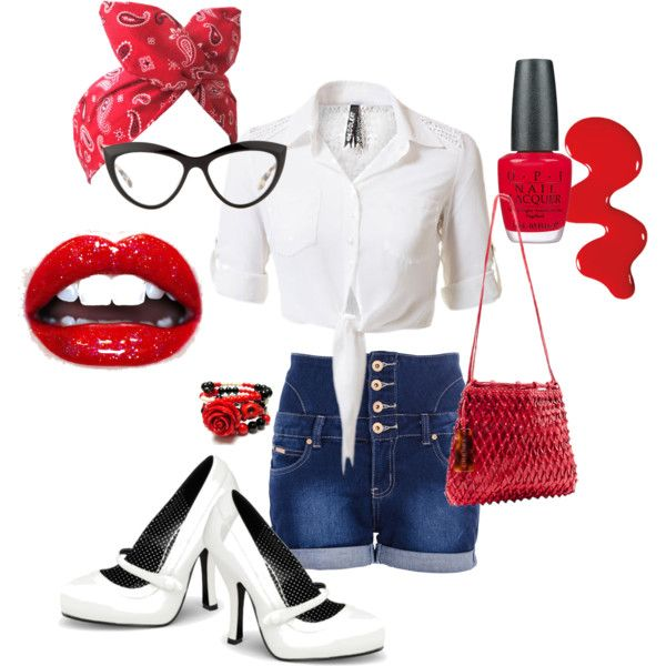 A fashion look from April 2014 featuring Quiz shorts, Pinup Couture shoes and Chanel shoulder bags. Browse and shop related looks.