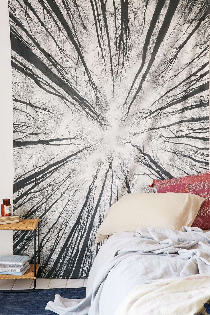 4040 Locust Trees From Below Tapestry - Urban Outfitters