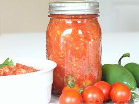 Handmade Frenzy: Pineapple Salsa Recipe - For Canning