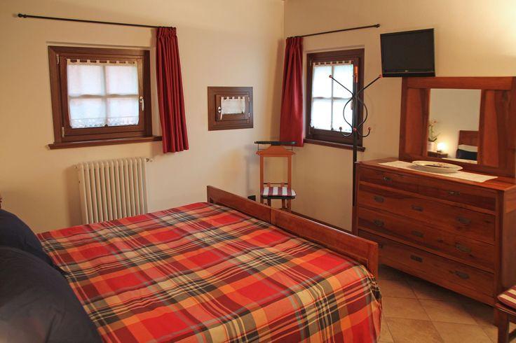 Una delle stupende camere ristrutturate del bed and breakfast Corte Alfier a Lavariano