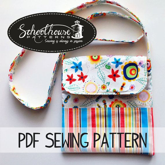 This listing is for a PDF sewing pattern. I do not sell finished products. All sales final.  The Middle School Messenger.  This listing is for a PDF sewing pattern, full of color photos to assist you in making this messenger bag. This bag is great for young girls or a quick trip bag. Final dimensions of bag are 9x9 and has a 50 strap. You can shorten the strap for your younger people if necessary. There are also 2 pockets inside of the bag. There is no closure. This makes it a simpler sew…