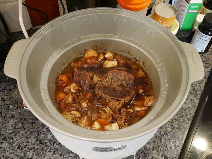 Söndagsstek i Crock-Pot, Crock-Pot, recept söndagsstek i Crock-Pot