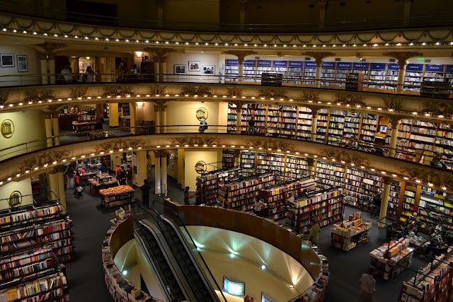 Libreria El Ateneo Grand Splendid, @MisteriosaBsAs