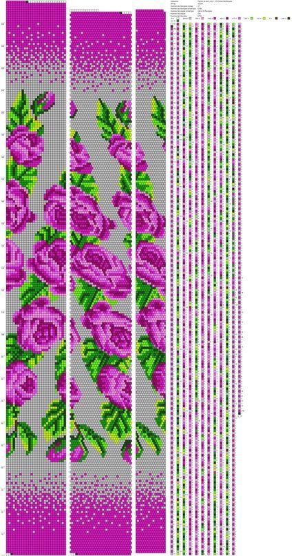 рисуем схемы для жгутов из бисера вышивки и дрs Photos жгут из