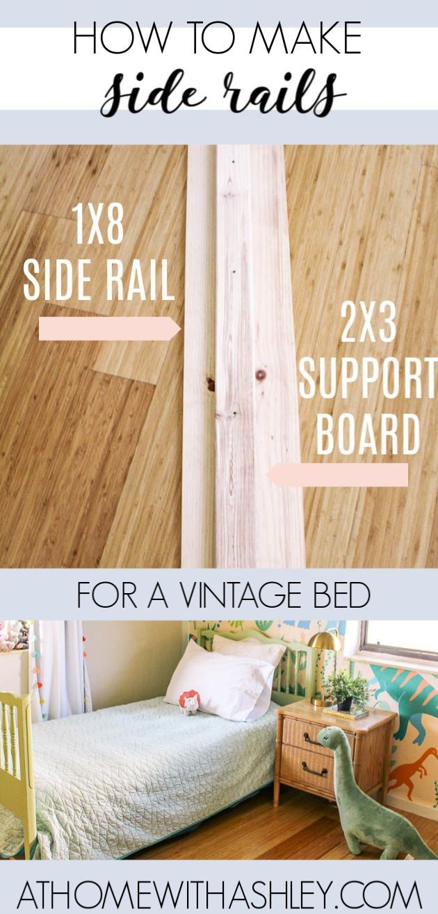 Diy Side Rails For Twin Bed In 2020 With Images Diy Home Decor