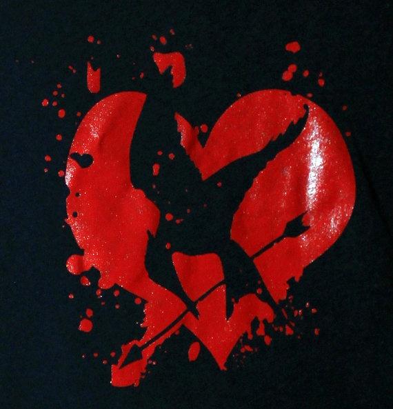 Mockingjay Heart