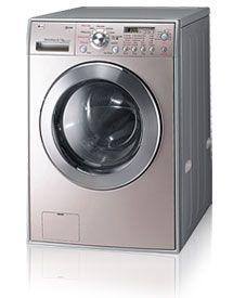 pink washing machine and dryer