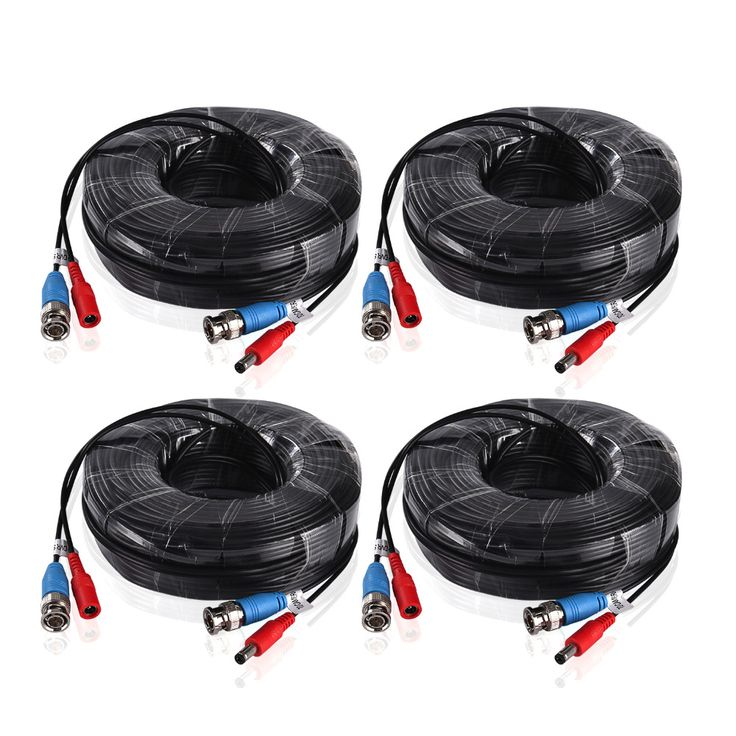 $23.99 (Buy here: https://alitems.com/g/1e8d114494ebda23ff8b16525dc3e8/?i=5&ulp=https%3A%2F%2Fwww.aliexpress.com%2Fitem%2FSANNCE-4PCS-a-Lot-30M-100-Feet-BNC-Video-Power-Cable-For-CCTV-AHD-Camera-DVR%2F32677809459.html ) ANNKE 4PCS a Lot 30M 100 Feet BNC Video Power Cable For CCTV AHD Camera DVR Security System Black Surveillance Accessories for just $23.99