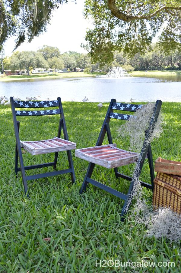Folding Chair Makeovers - Puddy's House's clipboard on Hometalk, the largest knowledge hub for home & garden on the web