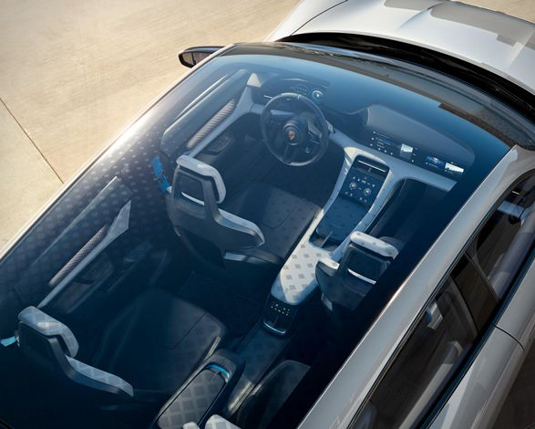 Porsche Cross Turismo Interior