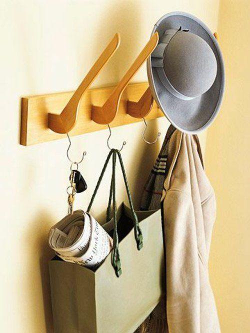 garderobenständer DIY selber bauen recyceln hat