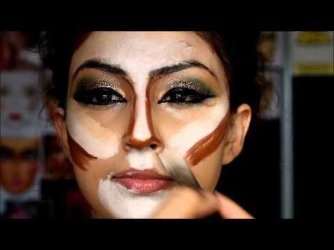 Pakistani bridal makeup mehndi mayun bride slough - 5day MAKEUP COURSES - YouTube