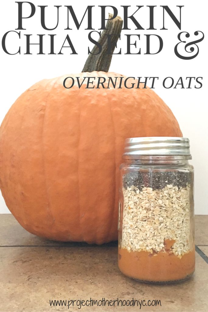 Healthy Life Recipe: Pumpkin and Chia Seed Overnight Oats