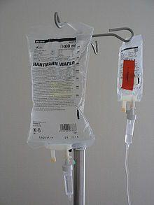 Intravenous therapy - Wikipedia, the free encyclopedia