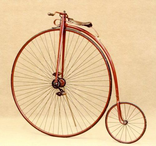 Penny-Farthing Bicycle circa 1895
