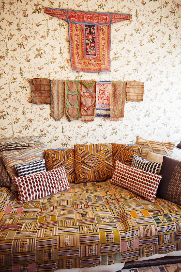 Margherita Maccapani Missoni – Missoni Brand Ambassador at home in Milan « the selby Kente + Patterns