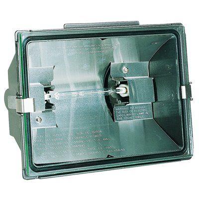 Heath-Zenith 1-Head 500-Watt Bronze Halogen Dusk-To-Dawn Security Light