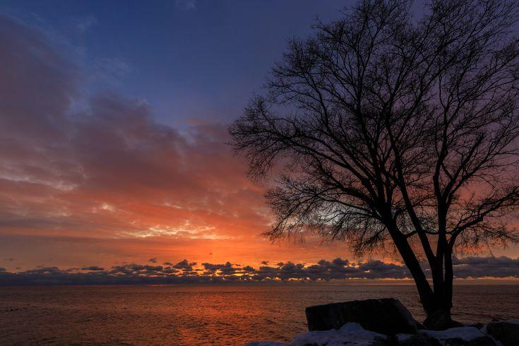 Sky on fire - Sunrise over Lake Ontario
