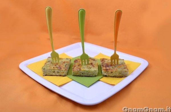 • Frittata di verdure - Ricetta Frittata di verdure di GnamGnam
