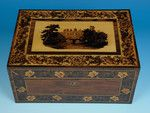 Tunbridge Ware Needlework Box