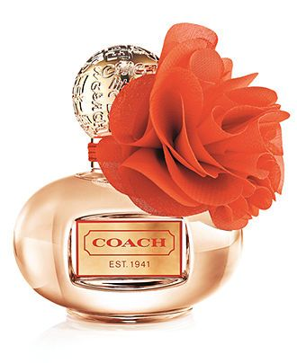 Coach Poppy Blossom Fragrance Collection - COACH Macy's My absolute favorite fall fragrance.