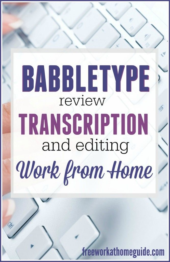 medical transcription work from home babbletype review work from home transcription job best 9692