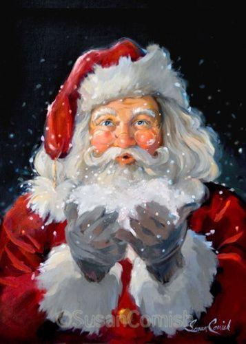 Susan Comish Christmas Art Gallery | Quality Prints & Original Artwork