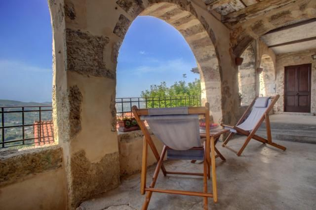 House for sale in a former monastery with a breathtaking #view over the surring area #Lazio #Arpino