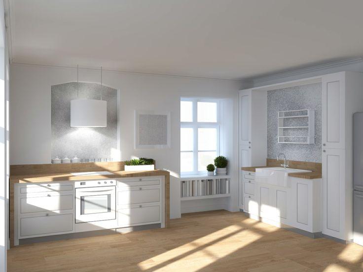 Kitchen design 2013 | Scandinavian style kitchen by Magda Piekarska