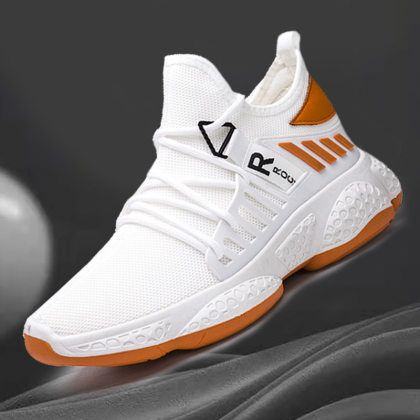 White Casual Shoes, Casual Sneakers, Men Sneakers, Mens Fashion Shoes, Sneakers Fashion, Casual Mode, Style Sportif, Mens Training Shoes, Baskets