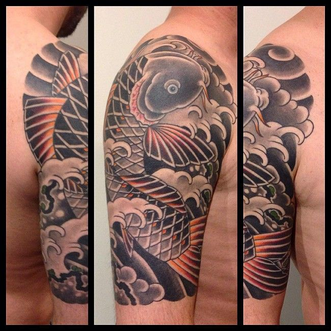 35 Traditional Japanese Koi fish Tattoo Meaning and Designs – True Colors