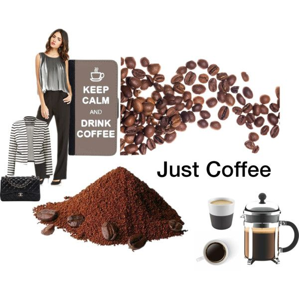 Coffee for me by farka-id on Polyvore featuring Chanel, CellPowerCases, Bodum and Eva Solo