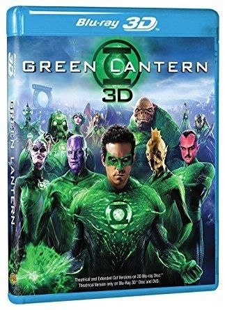 Green Lantern (DVD + 3D Blu-ray/WS) Ryan Reynolds, Blake Lively, Peter Sarsgaard, Mark Strong, Angela Bassett