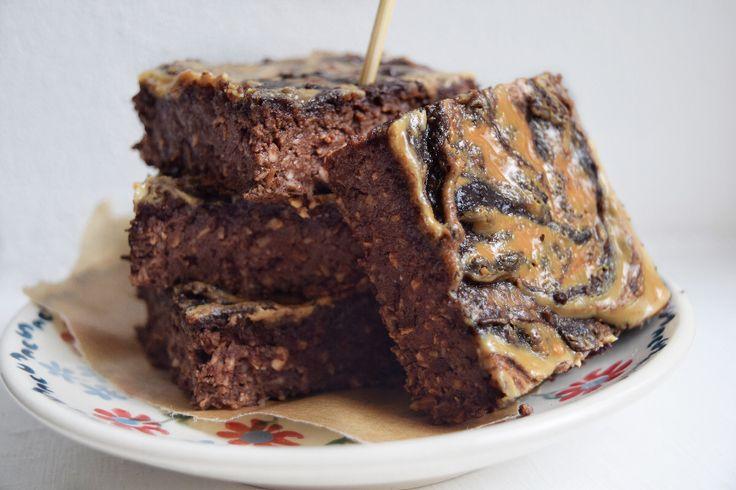 Brownies s arašídovým máslem