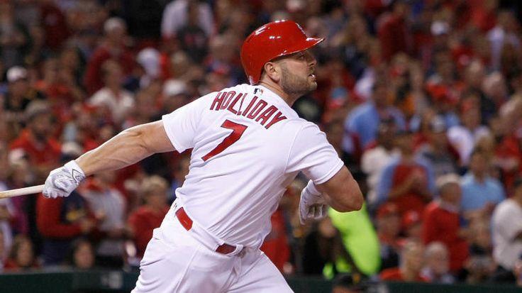 WATCH: Matt Holliday homers with broken thumb in perfect Cardinals farewell