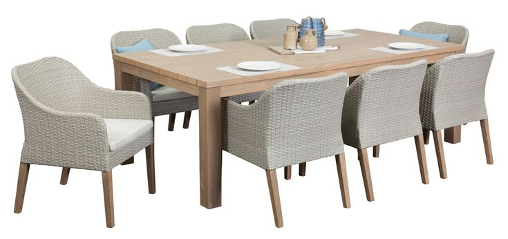 richmond 8 seater outdoor dining furniture outdoor. Black Bedroom Furniture Sets. Home Design Ideas