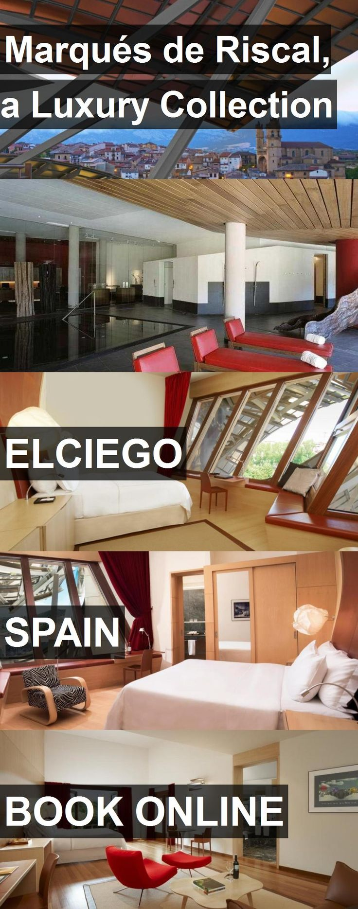 Hotel Marqués de Riscal, a Luxury Collection in Elciego, Spain. For more information, photos, reviews and best prices please follow the link. #Spain #Elciego #travel #vacation #hotel