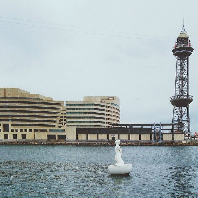 Drifting and floating and fading away | Port de #Barcelona