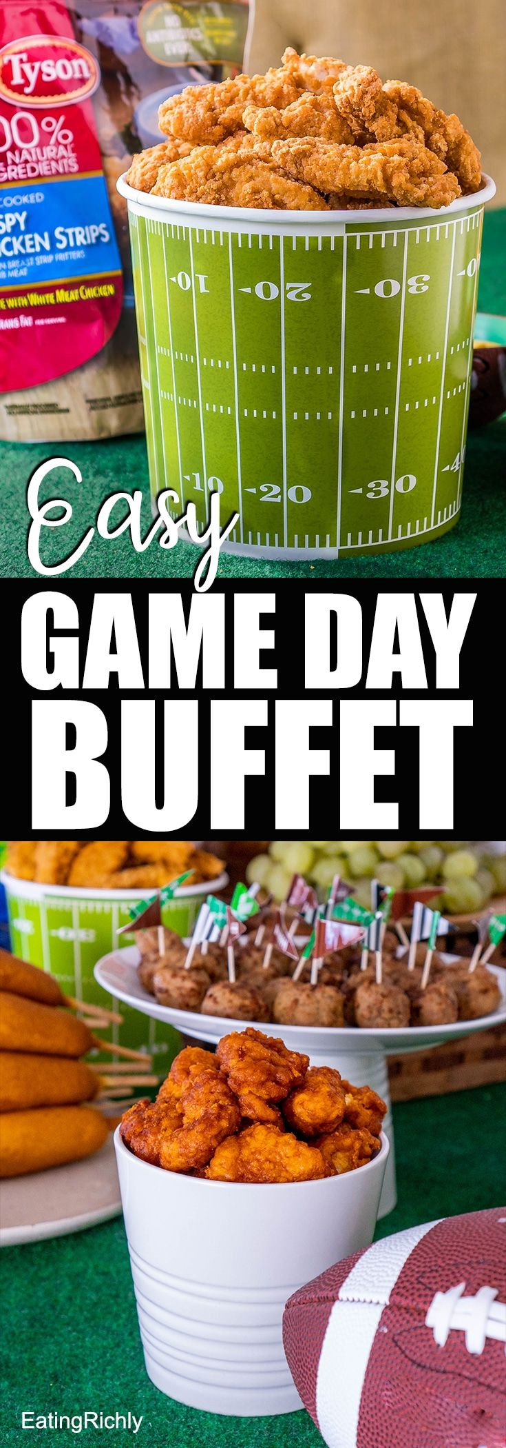 Think you're too busy to host a great party for the big game? Don't worry! @Ty…