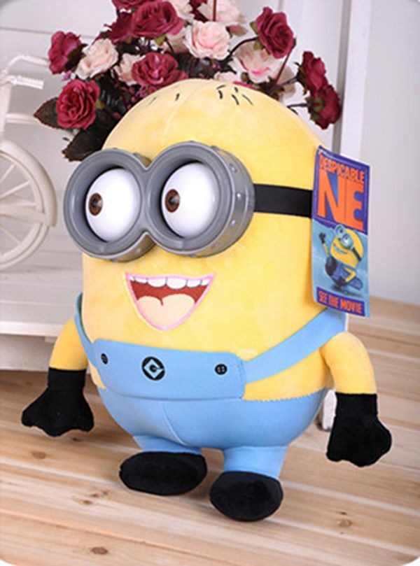 18cm minion toys despicable me Creative Minions 3D eyes yellow doll soybeans doll plush toys New Arrival - http://manydolls.com/?product=18cm-minion-toys-despicable-me-creative-minions-3d-eyes-yellow-doll-soybeans-doll-plush-toys-new-arrival