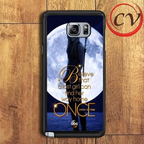 Once Upon A Time Samsung Galaxy Note 7 Case