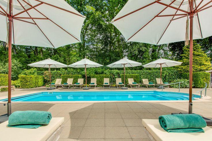Afkoelen met een duik in ons zwembad? Na 1 mei geopend.