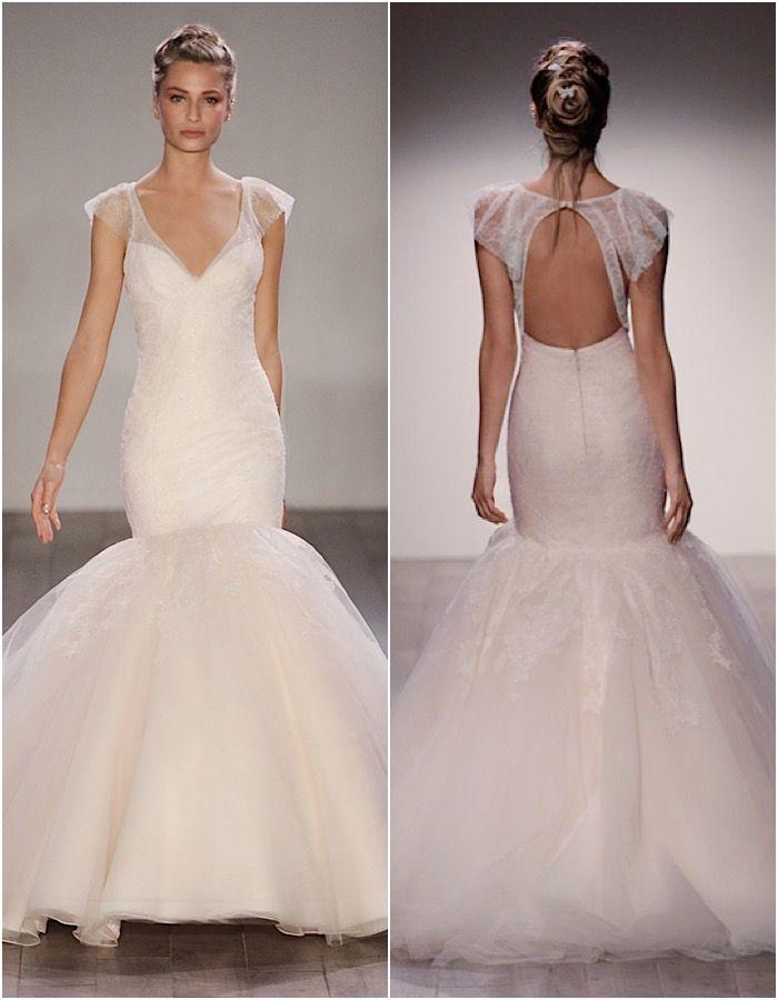 mermaid Jim Hjelm wedding dresses