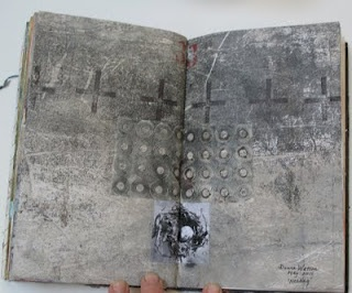 Donna Watson page in Laura Lein-Svencner Make Your Mark Journal