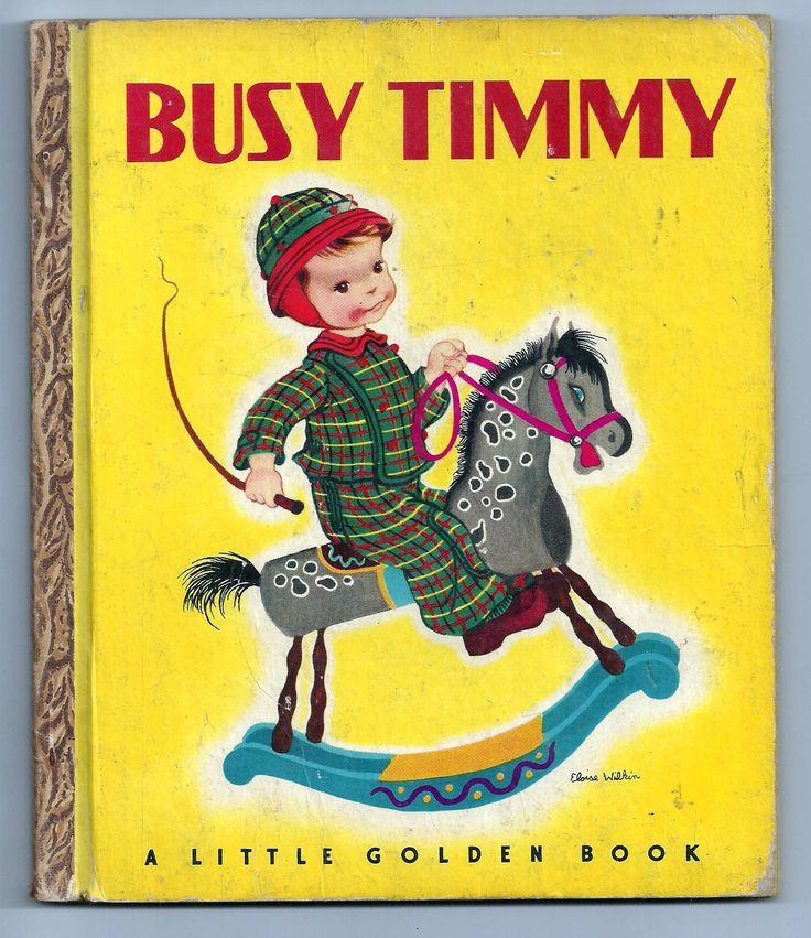 Vintage Little Golden Book #50